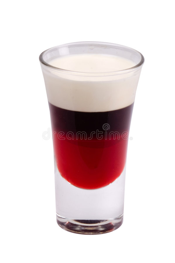 alkoholiserad coctail royaltyfri bild