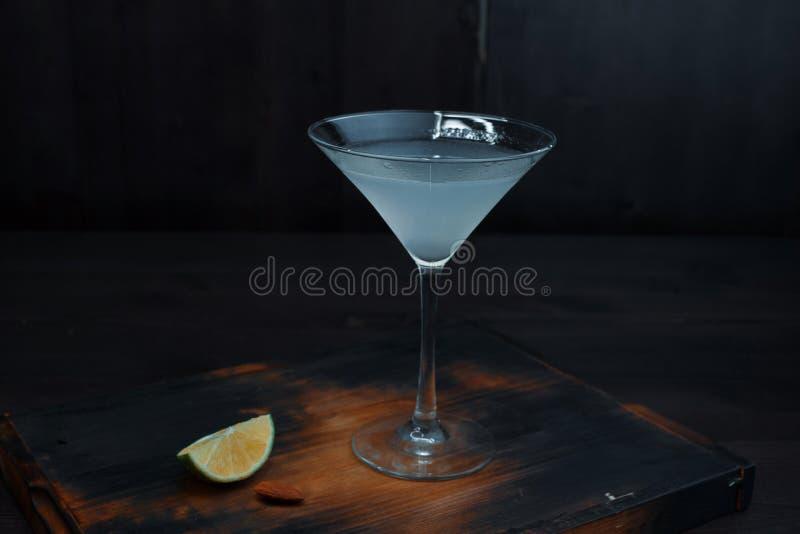 Alkoholiserad coctail 'margarita 'med tequila royaltyfri fotografi