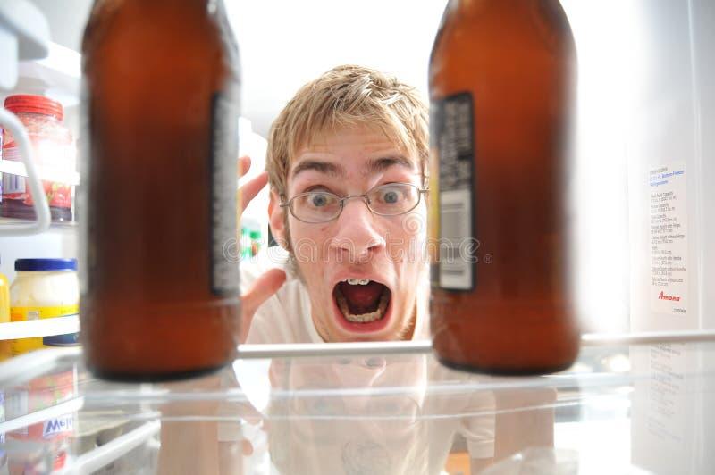 alkoholism royaltyfri foto