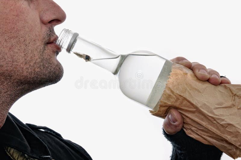 alkoholism arkivfoto
