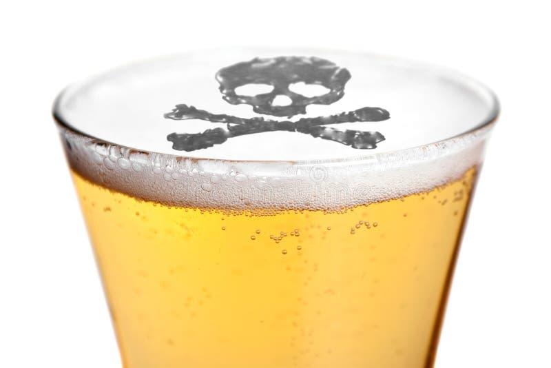 alkoholizm śmiertelny obraz stock