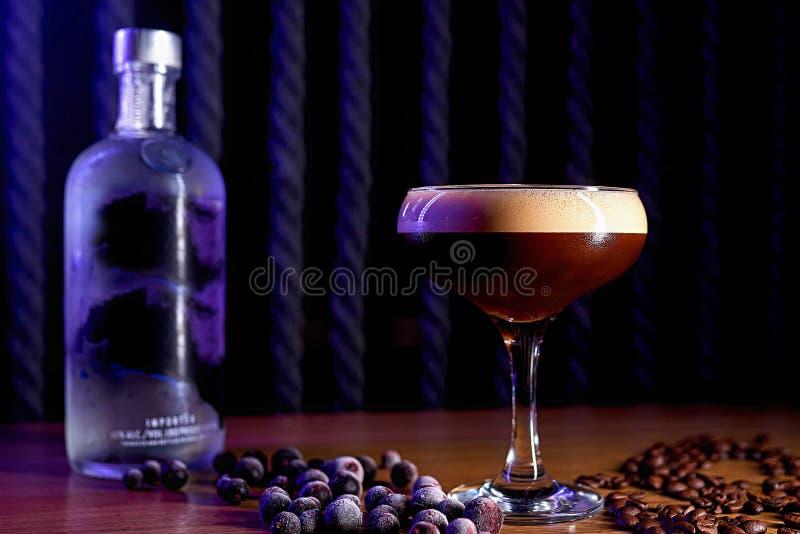 Alkoholu koktajlu plamy tło fotografia royalty free