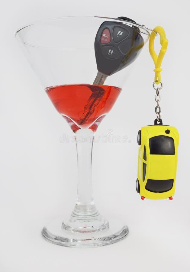 Alkoholu Napędowy ostrzeżenie obraz royalty free