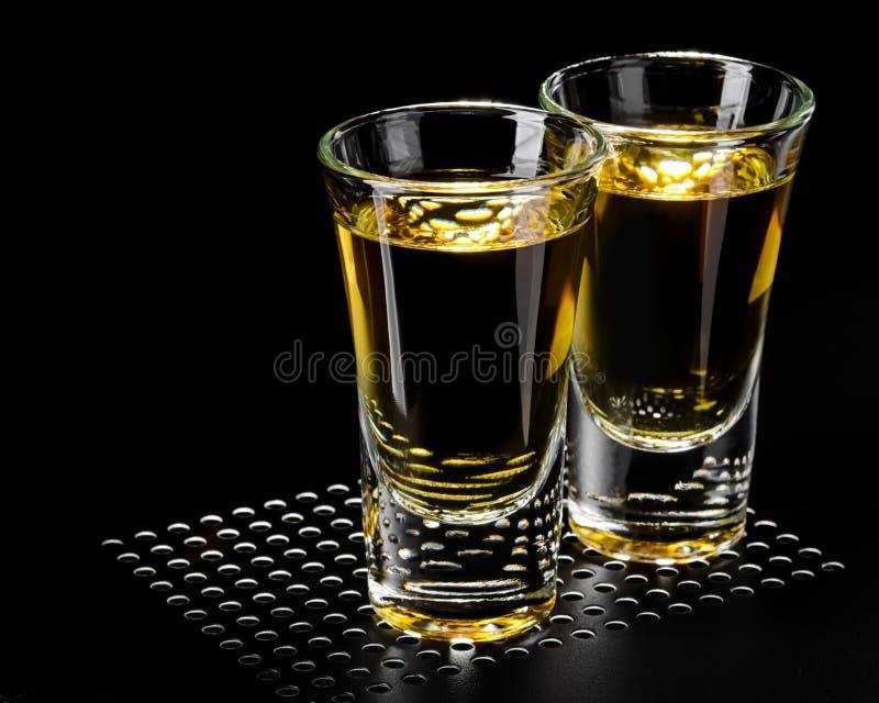 alkoholu szkło fotografia stock
