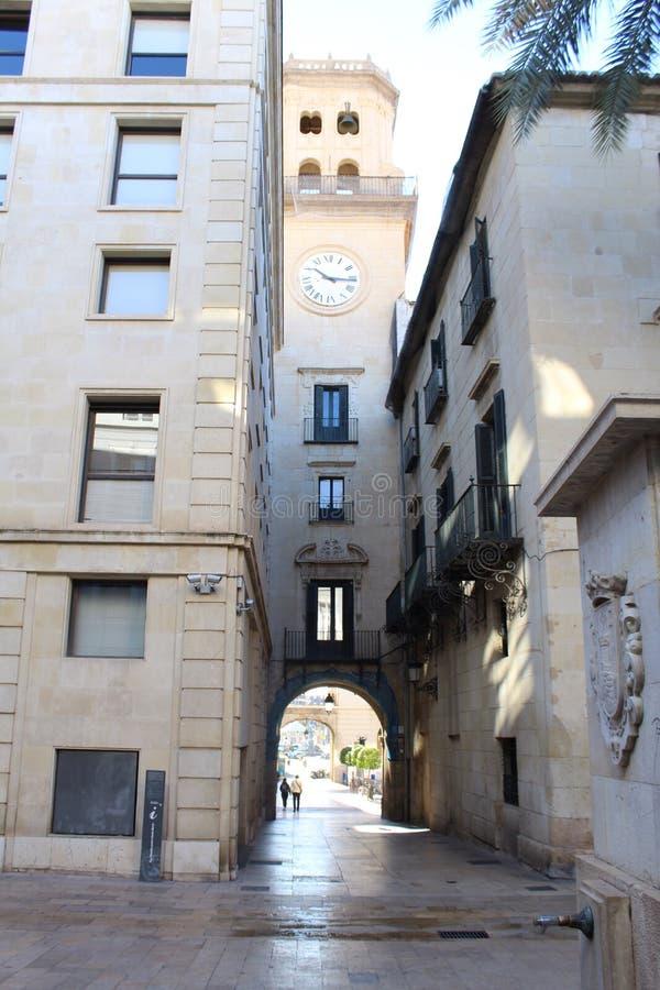 Allée de l'Espagne photos libres de droits