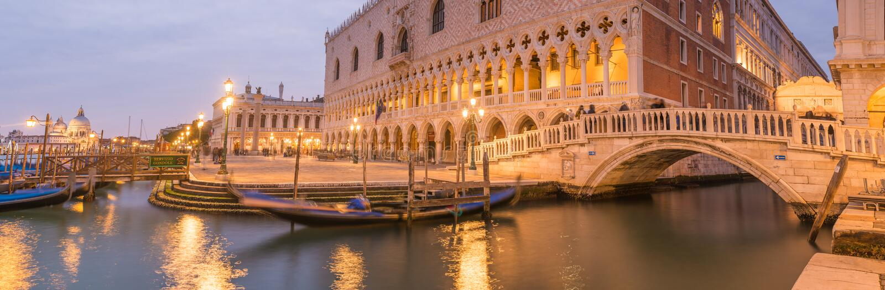 Allée de Venise, Italie photos stock