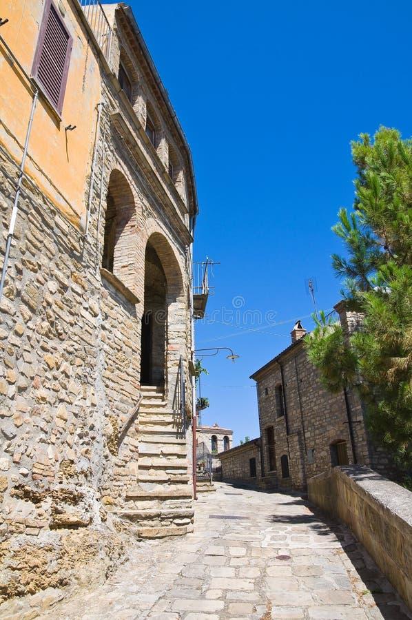 allée Guardia Perticara Basilicate l'Italie photos libres de droits