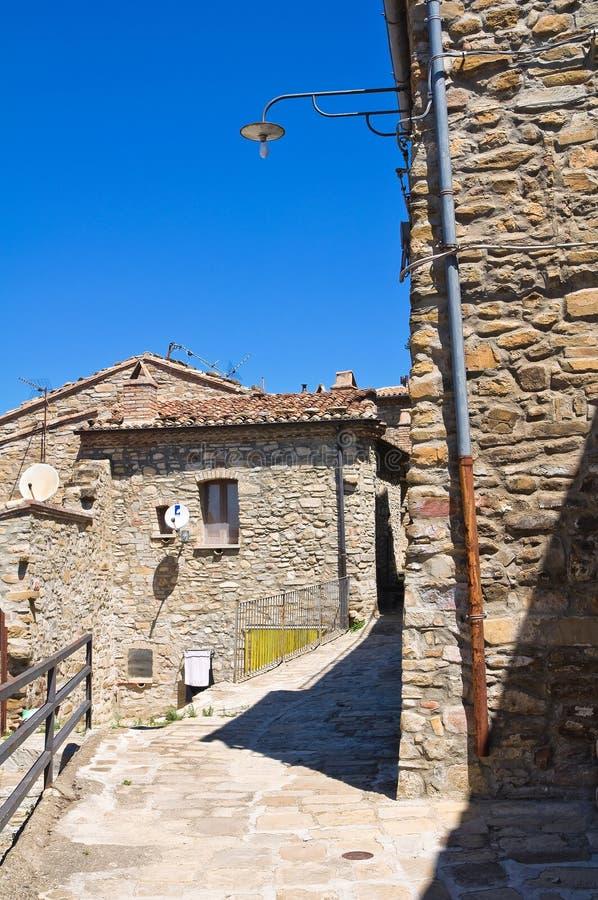 allée Guardia Perticara Basilicate l'Italie images libres de droits