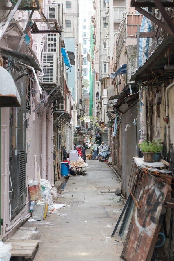 Allée Kowloon photographie stock