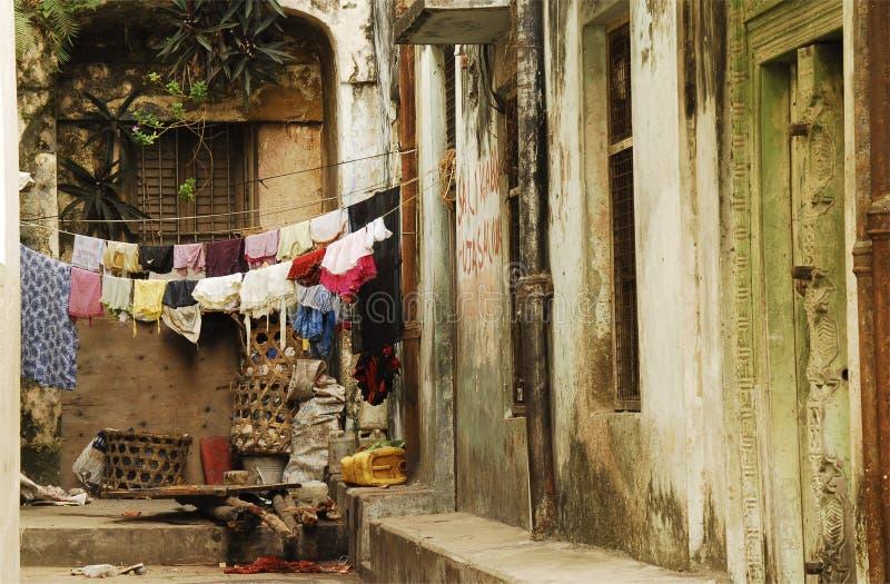 Allées, ville en pierre, Zanzibar photographie stock