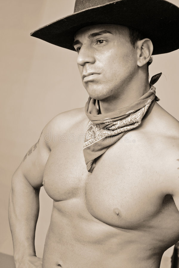 All american cowboy stock photography