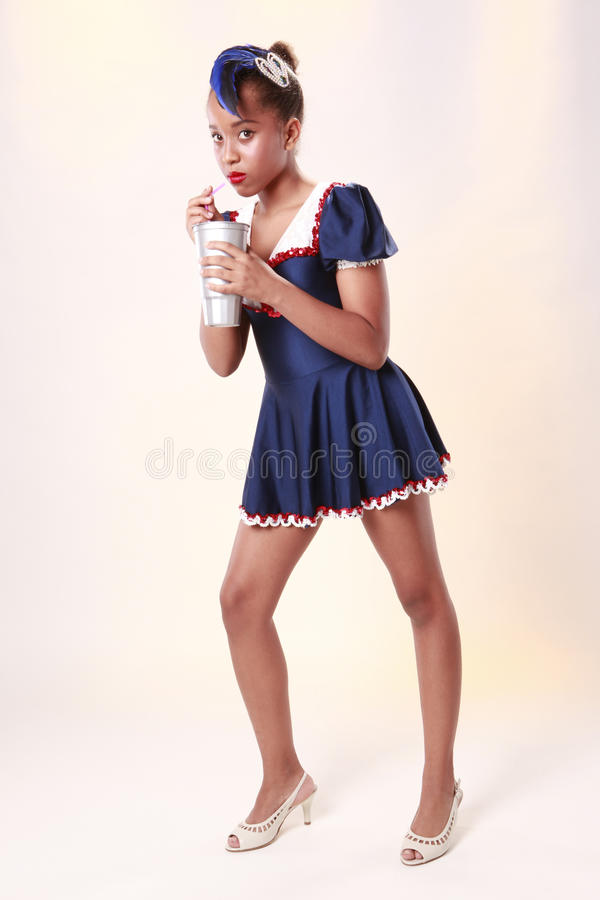 All american teen stock images