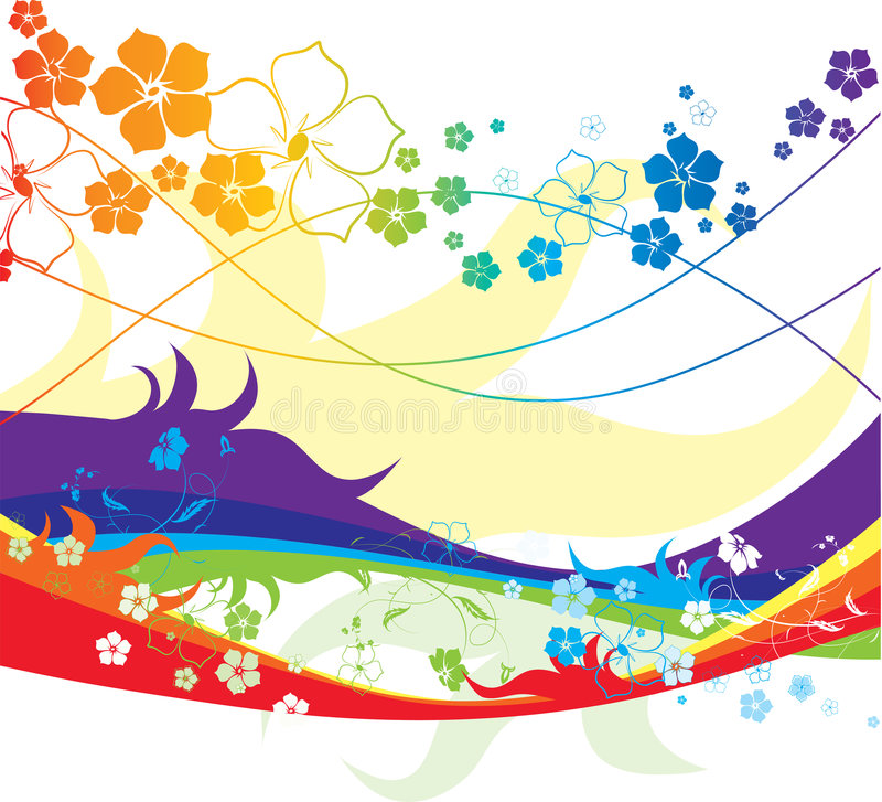 Download All The Colours Of The Rainbow Stock Vector - Image: 2476121