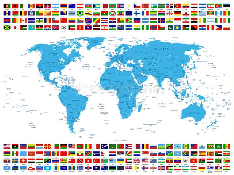 All country flags and world map stock vector illustration of download all country flags and world map stock vector illustration of international france gumiabroncs Gallery