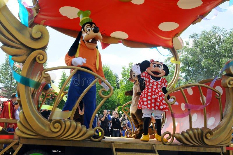 All Disneyland Uttryckt Stjärna Redaktionell Foto