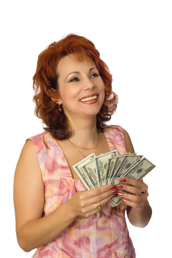 All are glad to dollars royalty free stock image