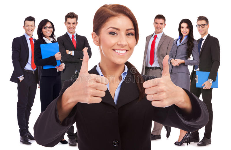 Download All Good With My Business Team! Stock Photo - Image: 27214368