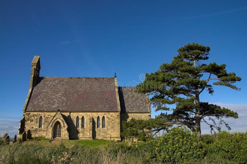 All helgonkyrka på Burythorpe royaltyfria bilder