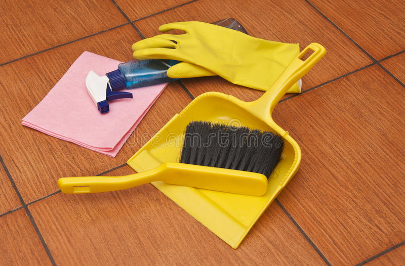 All for house cleaning royalty free stock image