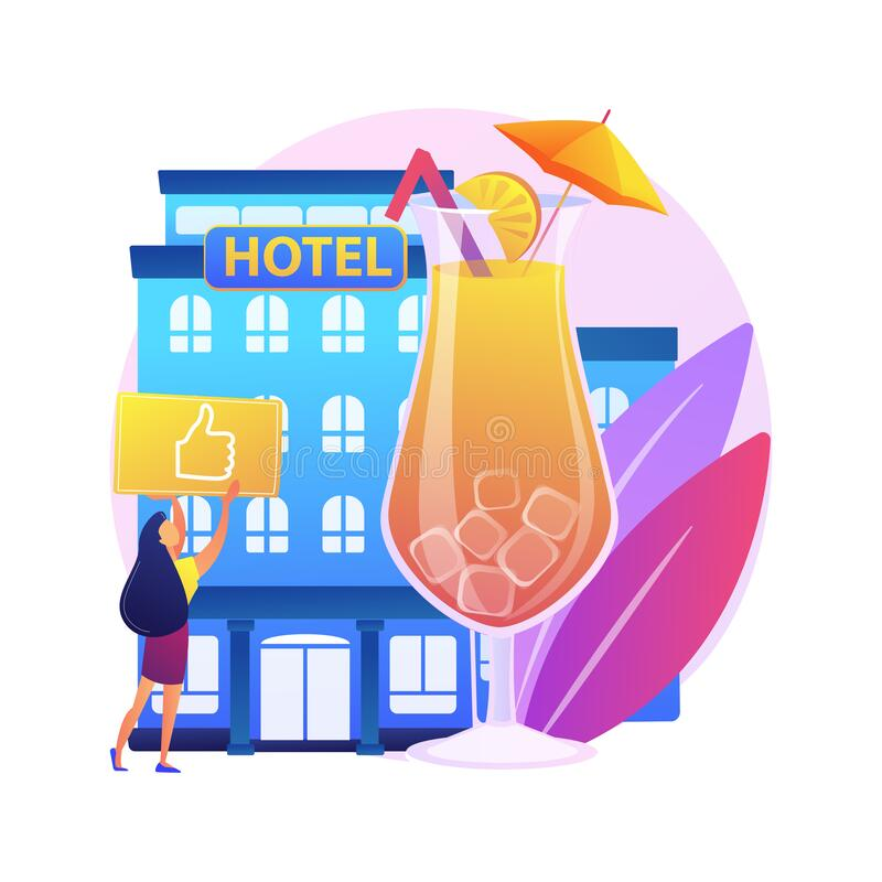 Inclusive Vacation Stock Illustrations