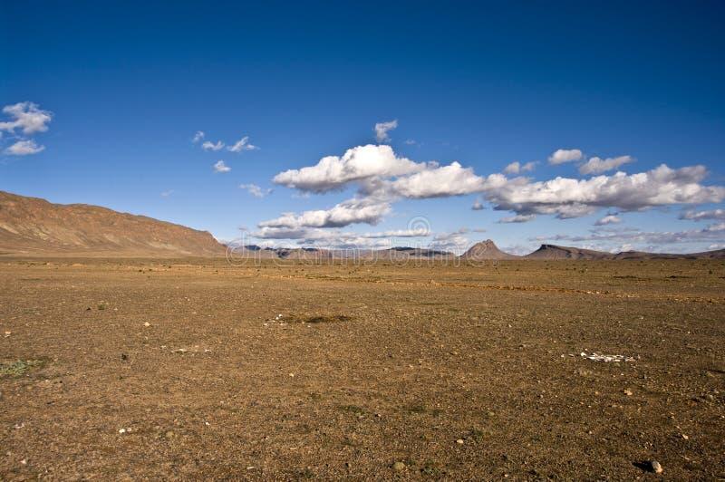 All'interno del deserto fotografia stock libera da diritti