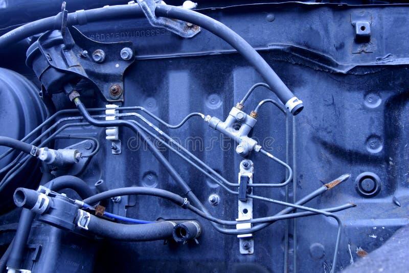 All'interno dell'automobile fotografia stock