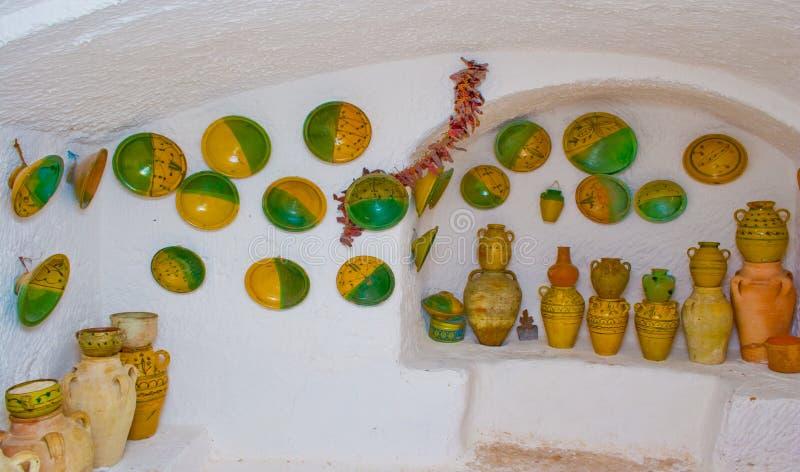 All'interno di una casa di berber immagini stock