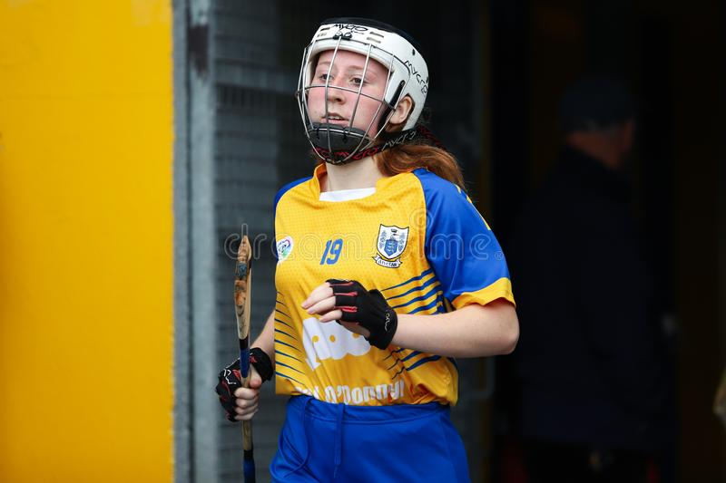 All-Ireland Premier Junior Championship Semi-Final between county Clare and county Kerry stock image