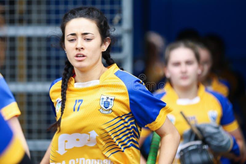 All-Irland premiärminister Junior Championship Semi-Final mellan länet Clare och länet Kerry arkivbild