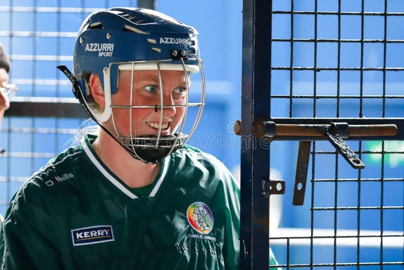 All-Irland premiärminister Junior Championship Semi-Final mellan länet Clare och länet Kerry royaltyfri foto