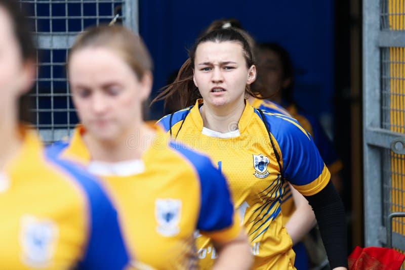 All-Irland premiärminister Junior Championship Semi-Final mellan länet Clare och länet Kerry royaltyfri fotografi