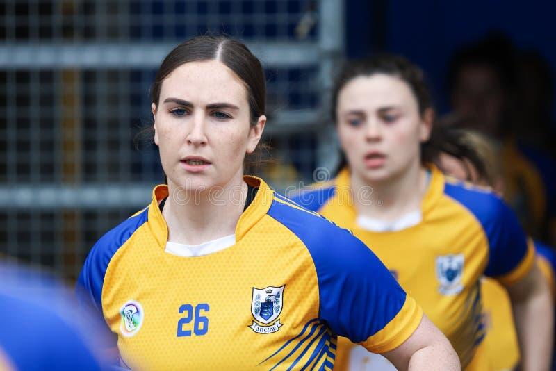 All-Irland premiärminister Junior Championship Semi-Final mellan länet Clare och länet Kerry royaltyfria foton