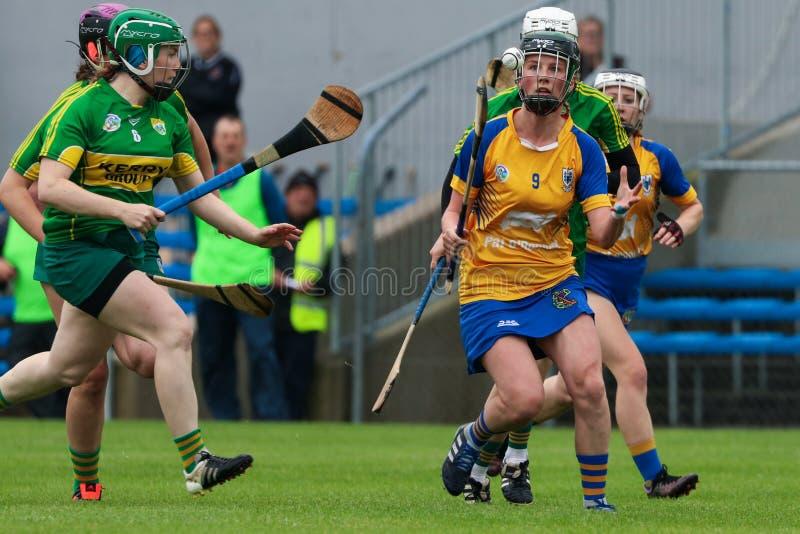 All-Irland premiärminister Junior Championship Semi-Final mellan länet Clare och länet Kerry fotografering för bildbyråer