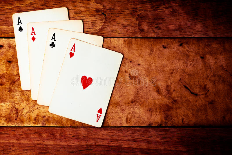 All kind of Ace. royalty free stock images