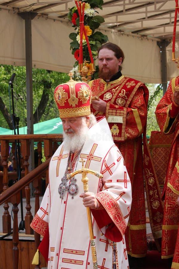 all kirillmoscow patriark russia arkivbild