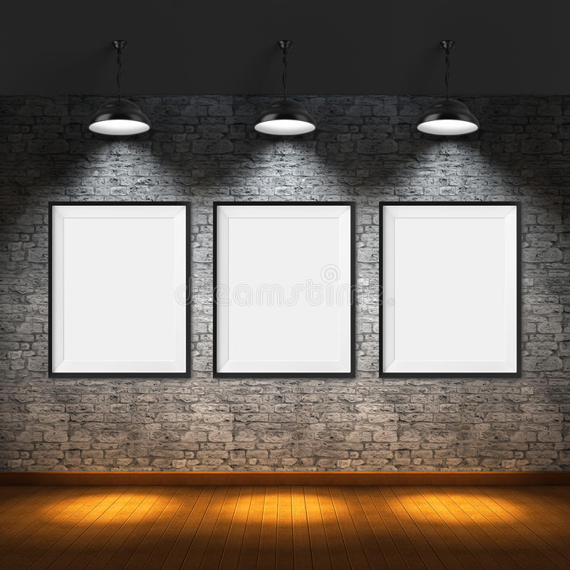 all konst filtrerade för fotobilder för gallerit bara den hela väggen arkivbild