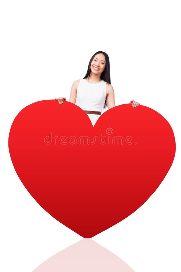 All my love is for you. royalty free stock photos