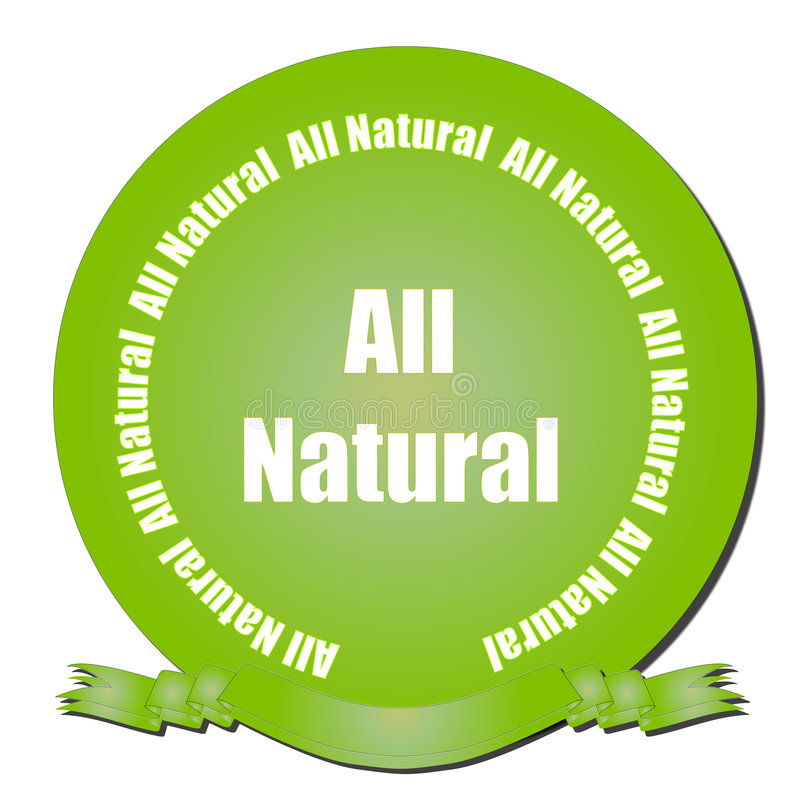 Download All Natural Seal stock vector. Image of designs, environment - 8209684