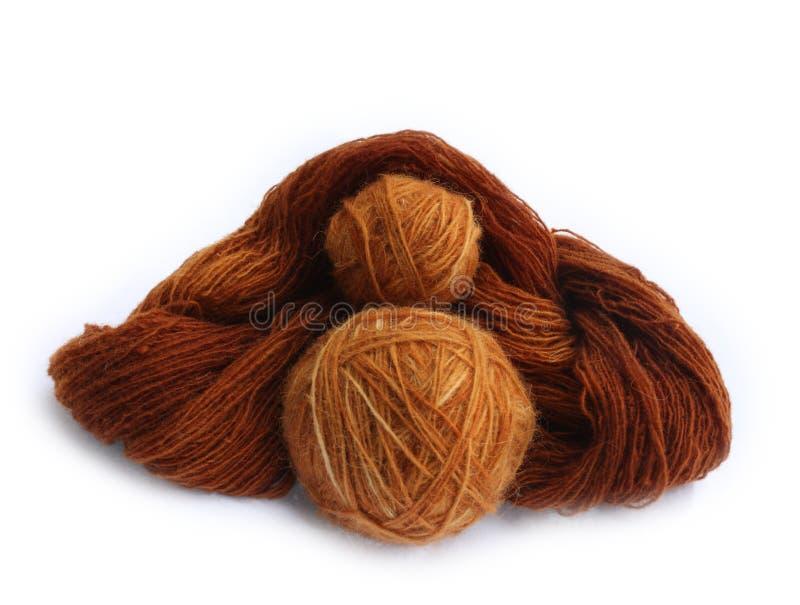All natural yarn doll royalty free stock photography