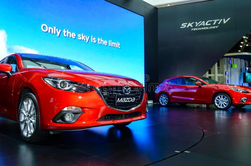 Download The All-New MAZDA 3 SKYACTIV Sports Compact. Editorial Photo - Image of engine, automobile: 39503186