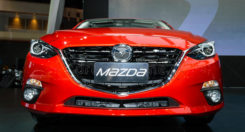 Download The All-New MAZDA 3 SKYACTIV Sports Compact. Editorial Image - Image of concept, chrome: 39503480