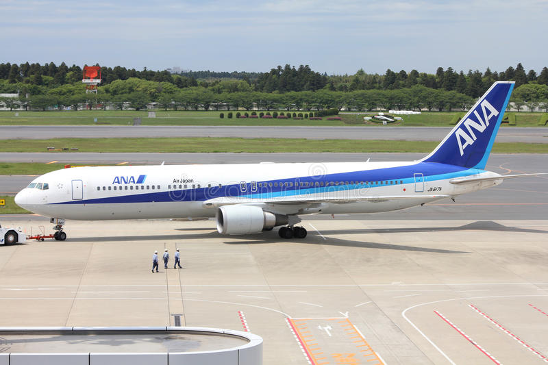 All Nippon Airways royalty-vrije stock afbeelding