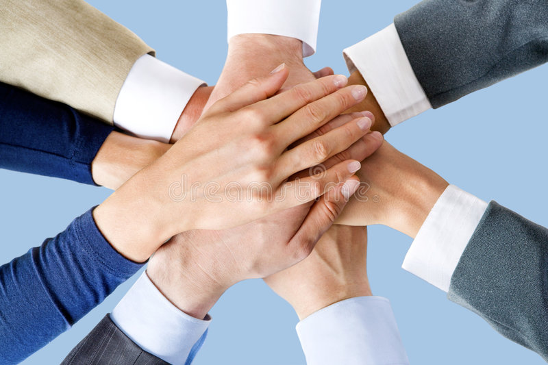 Download All for one! stock photo. Image of message, consensus - 3923102