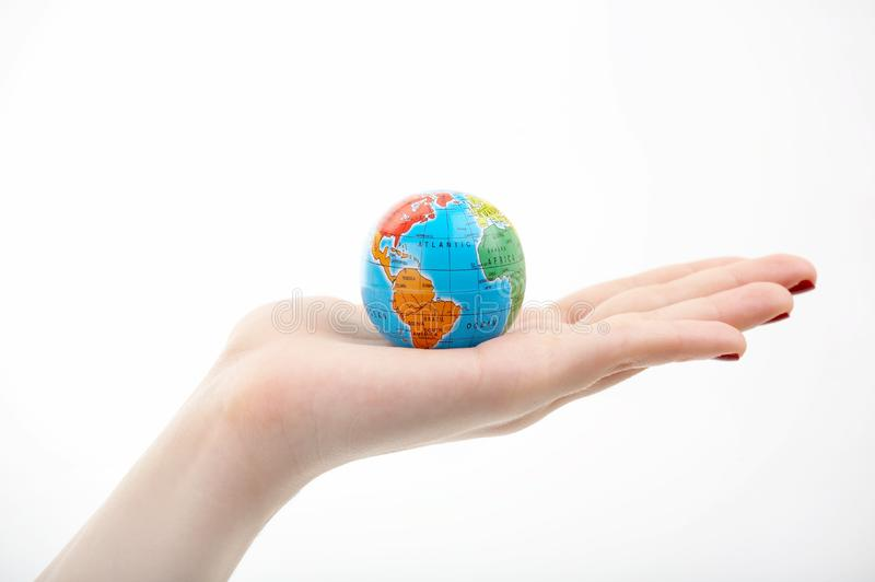 All in our hands royalty free stock photos