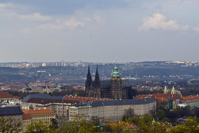 All of Prague sight royalty free stock photo