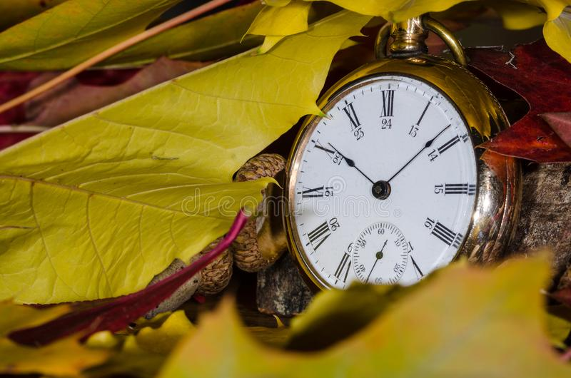 It is All About the Passage of Time. It is All About the Relentless Passage of Time stock photo