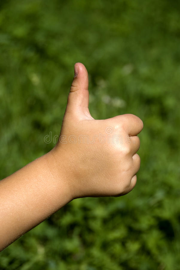 All right - Ok hand sign stock photography
