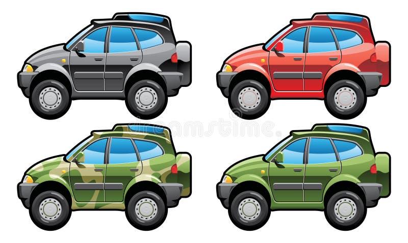 All-road vehicle stock illustration