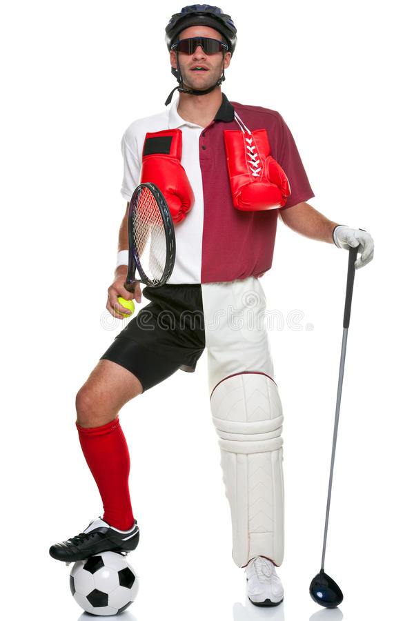 Free All Round Sportsman Royalty Free Stock Photography - 10405777
