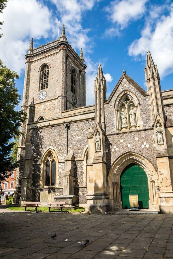 All Saints parish Church, High Wycombe royalty-vrije stock fotografie
